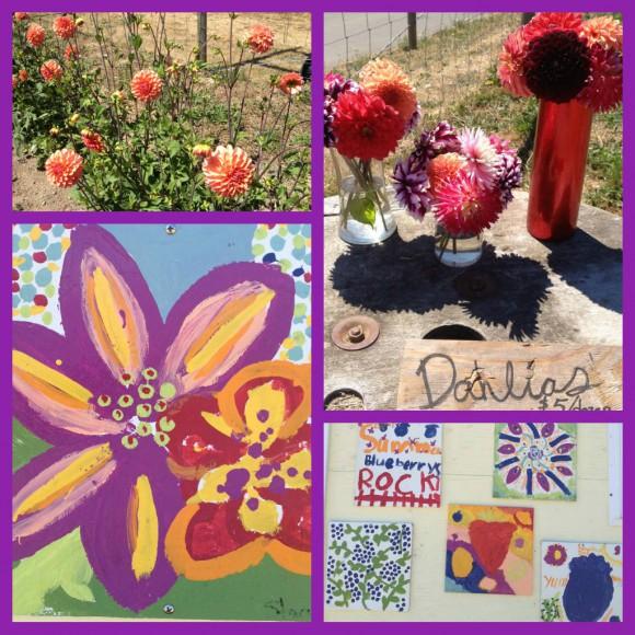 U-Pick Flowers Bainbridge Island by Jen Pell
