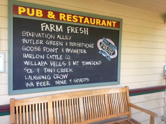Local food on Bainbridge Island