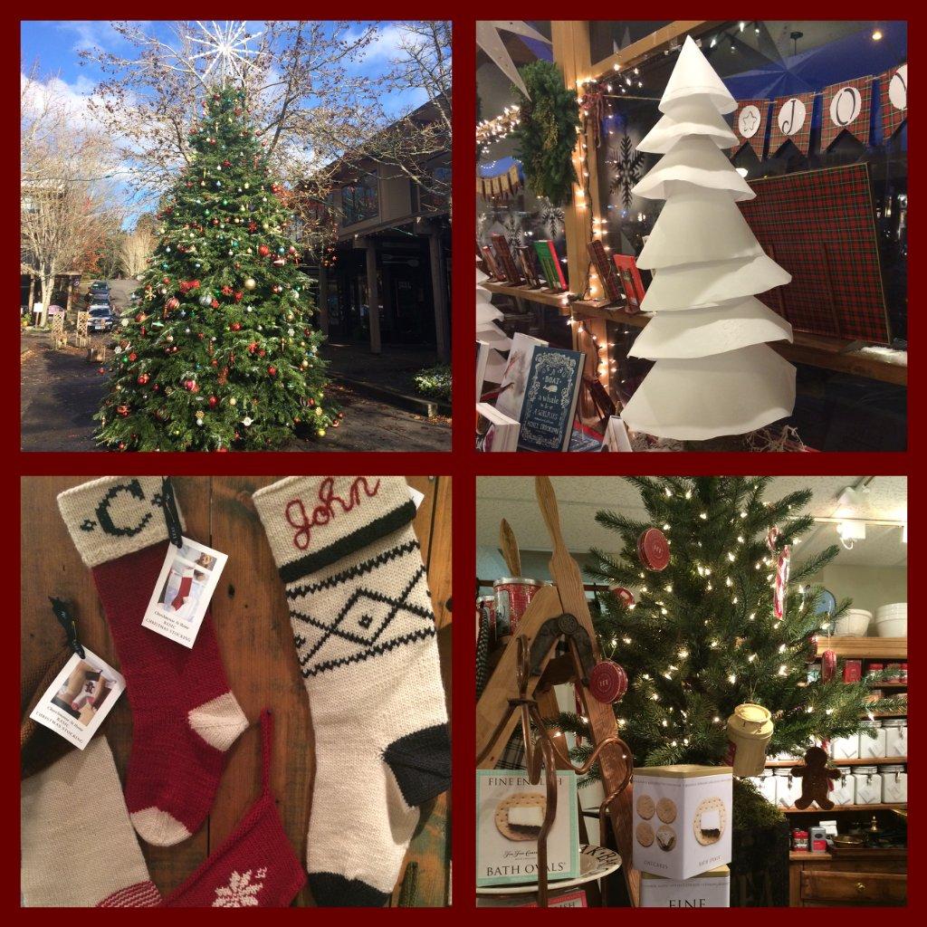 Bainbridge Holidays 2014 Winslow collage