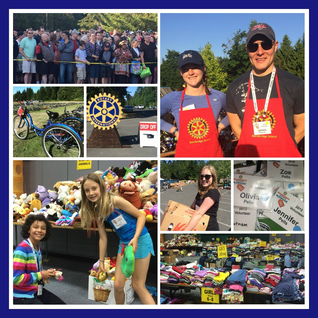 ROTARY 2015 collage by Jen Pells Realtor Bainbridge