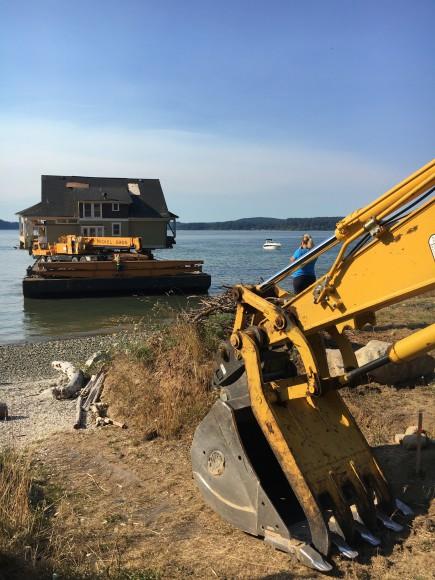 Nickel Bros moves a home to Bainbridge Island - Jen Pells Realtor