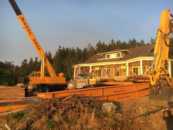 Nickel Brother Moves a Home to Bainbridge Island - Jen Pells Realtor
