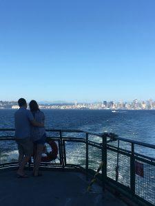 From the Seattle to Bainbridge Ferry by Jen Pells Windermere Realtor