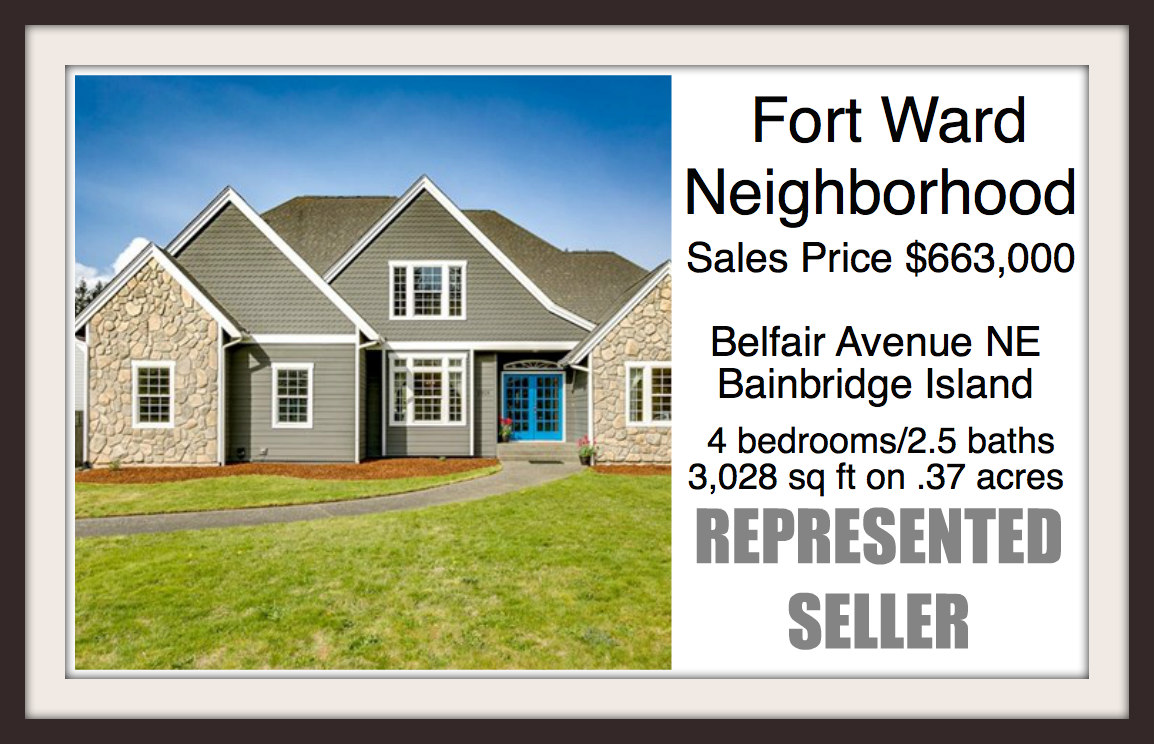 Fort Ward home on Bainbridge sold by Jen Pells Real Estate