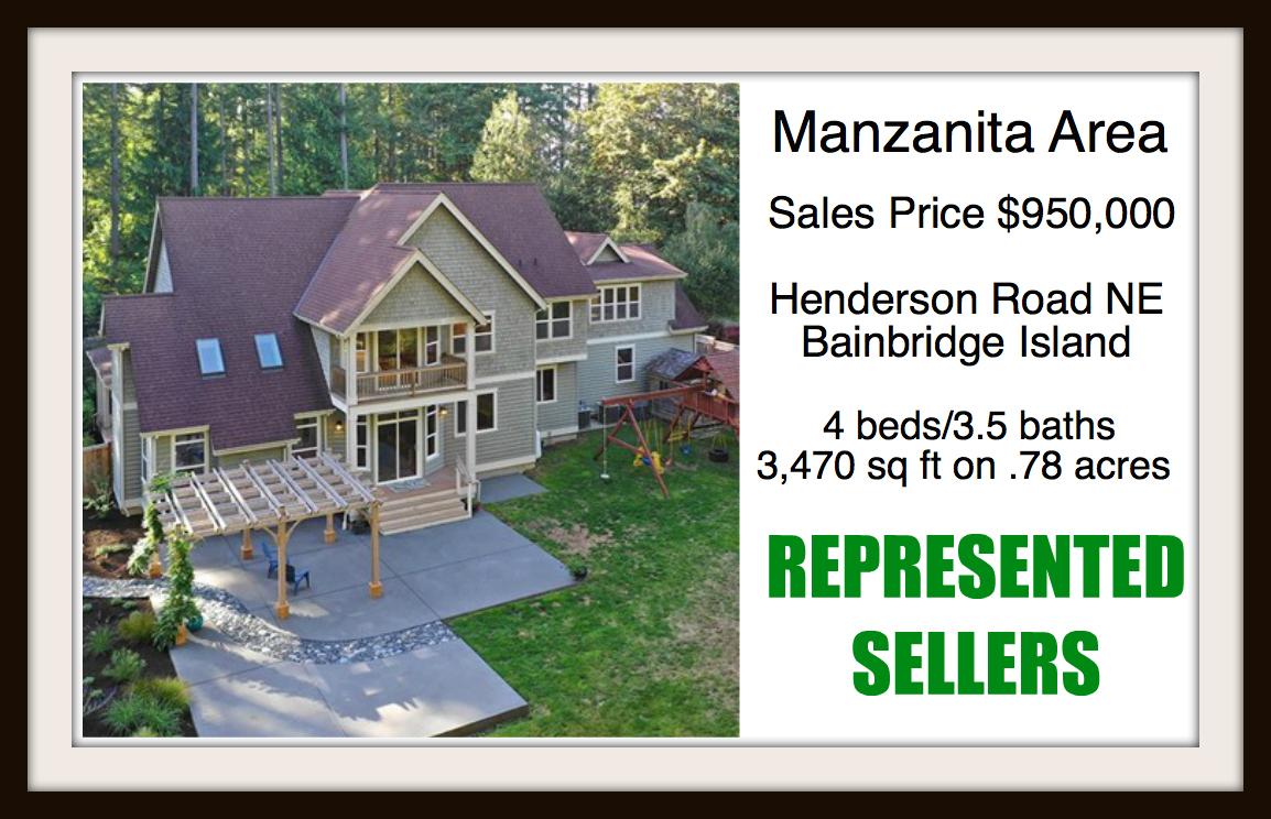Henderson Road on Bainbridge Island sold by Jen Pells Real Estate
