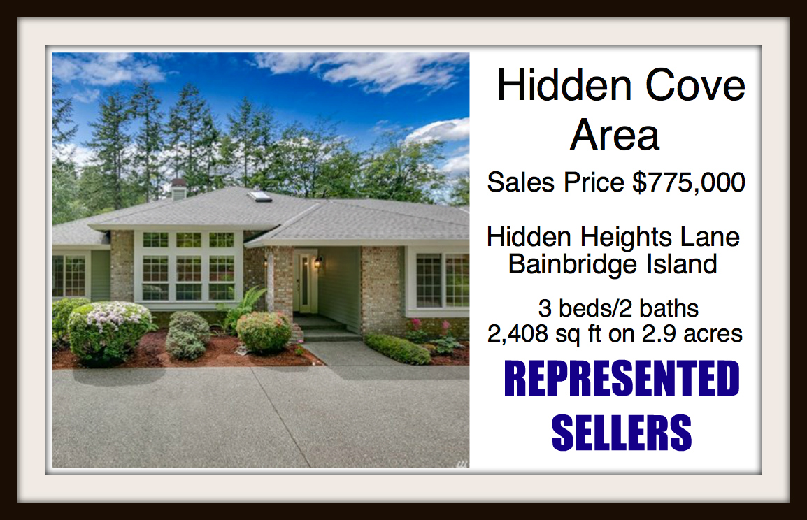 Hidden Heights Lane on Bainbridge Island sold by Jen Pells Real Estate