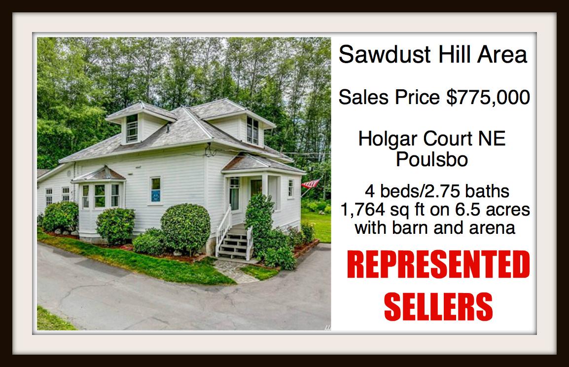 Holgar Ct in Poulsbo sold by Jen Pells Real Estate