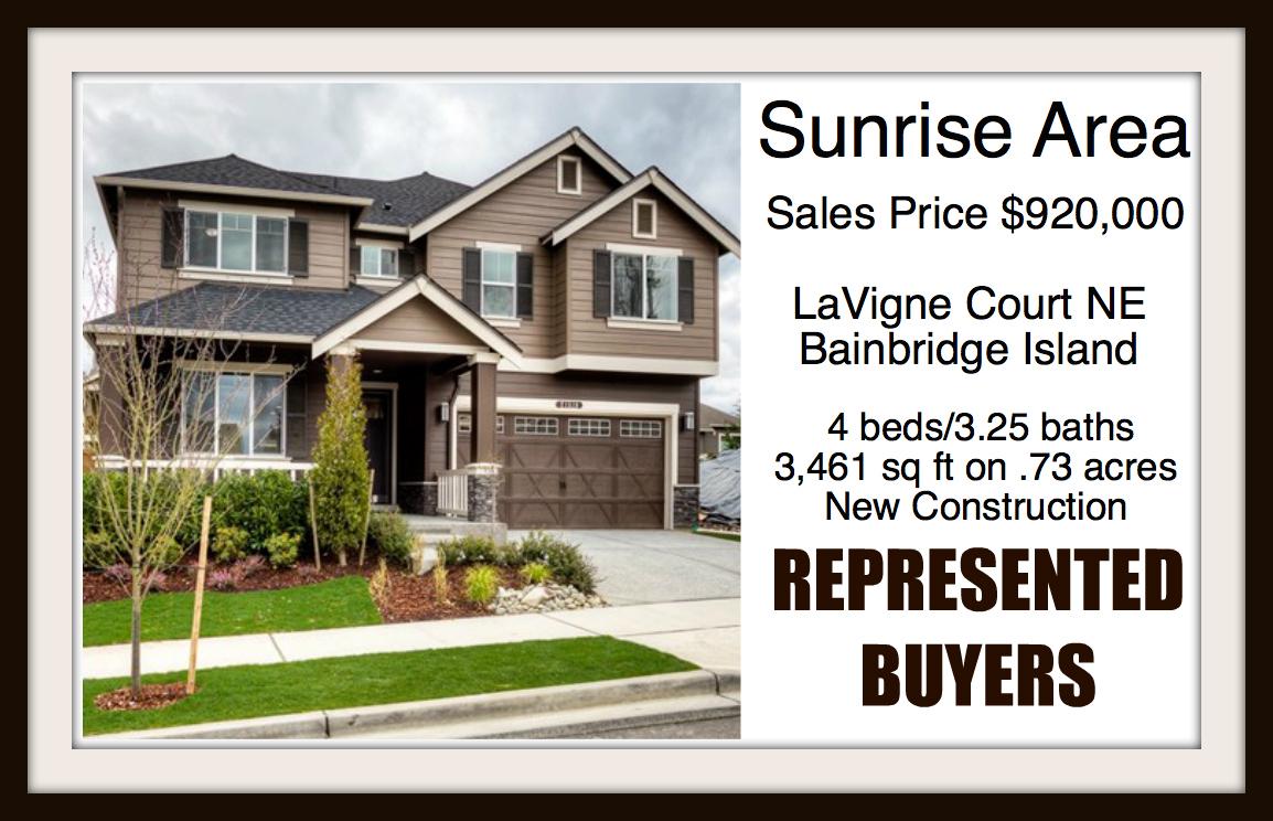 LaVigne Ct on Bainbridge Island sold by Jen Pells Real Estate