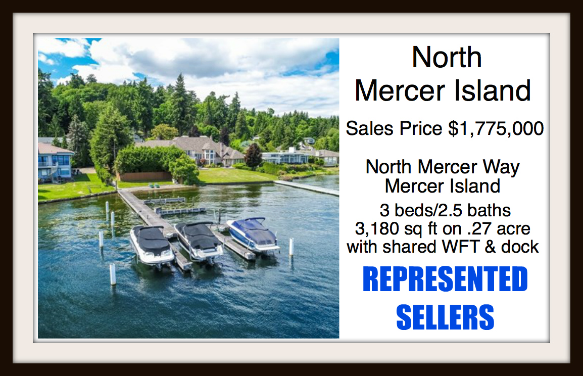 North Mercer home sold by Jen Pells Real Estate