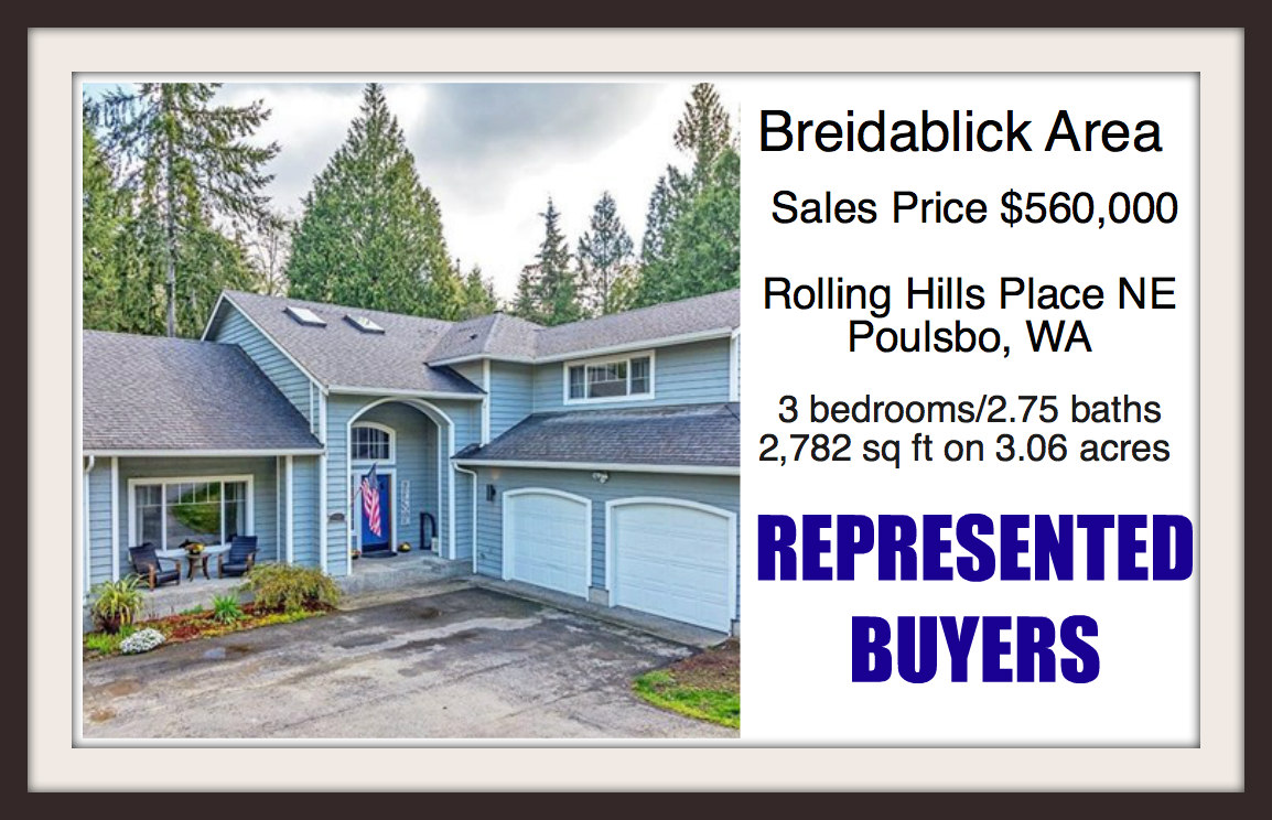 Rolling Hills home in Poulsbo sold by Jen Pells Real Estate