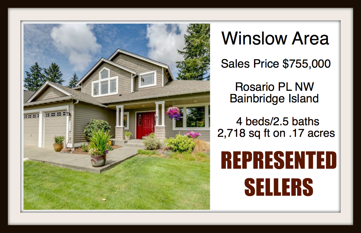 Rosario Place on Bainbridge Island sold by Jen Pells Real Estate