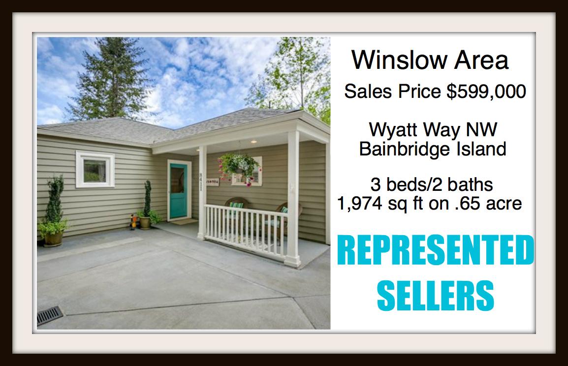 Wyatt Way on Bainbridge Island sold by Jen Pells Real Estate