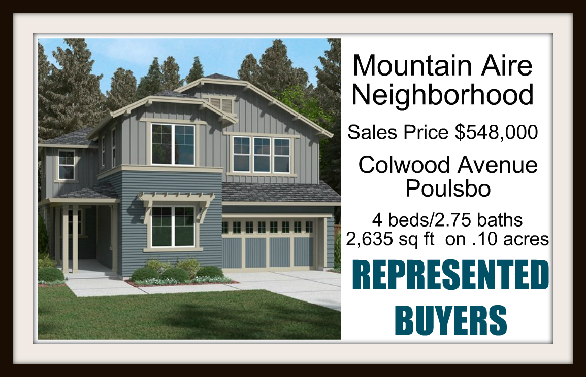 Colwood Ave Poulsbo sold by Jen Pells Real Estate