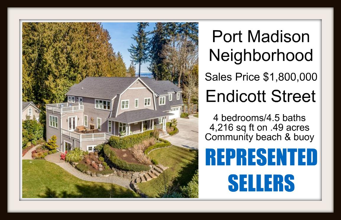 Endicott Street home on Bainbridge Island sold by Jen Pells Windermere Bainbridge