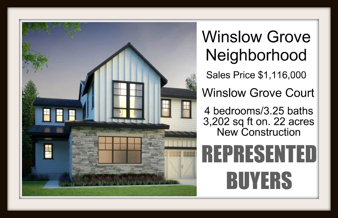 Winslow Grove Sold by Jen Pells