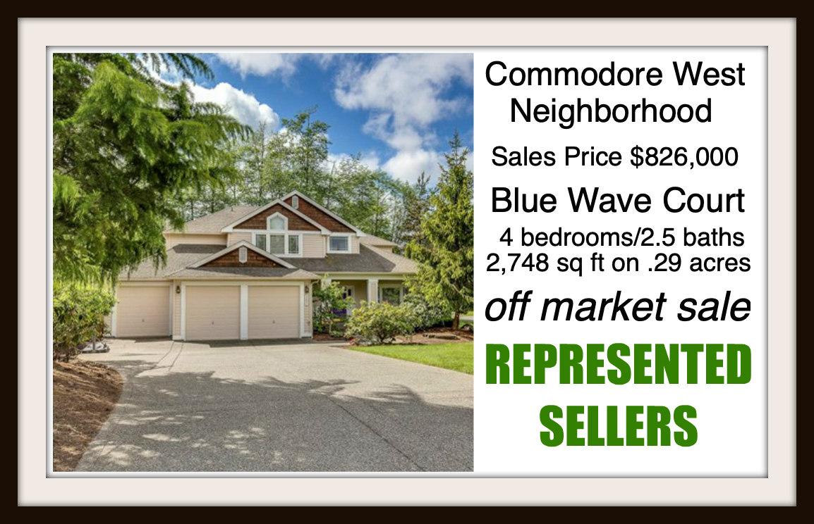 Blue Wave Ct on Bainbridge Island sold by Jen Pells Real Estate