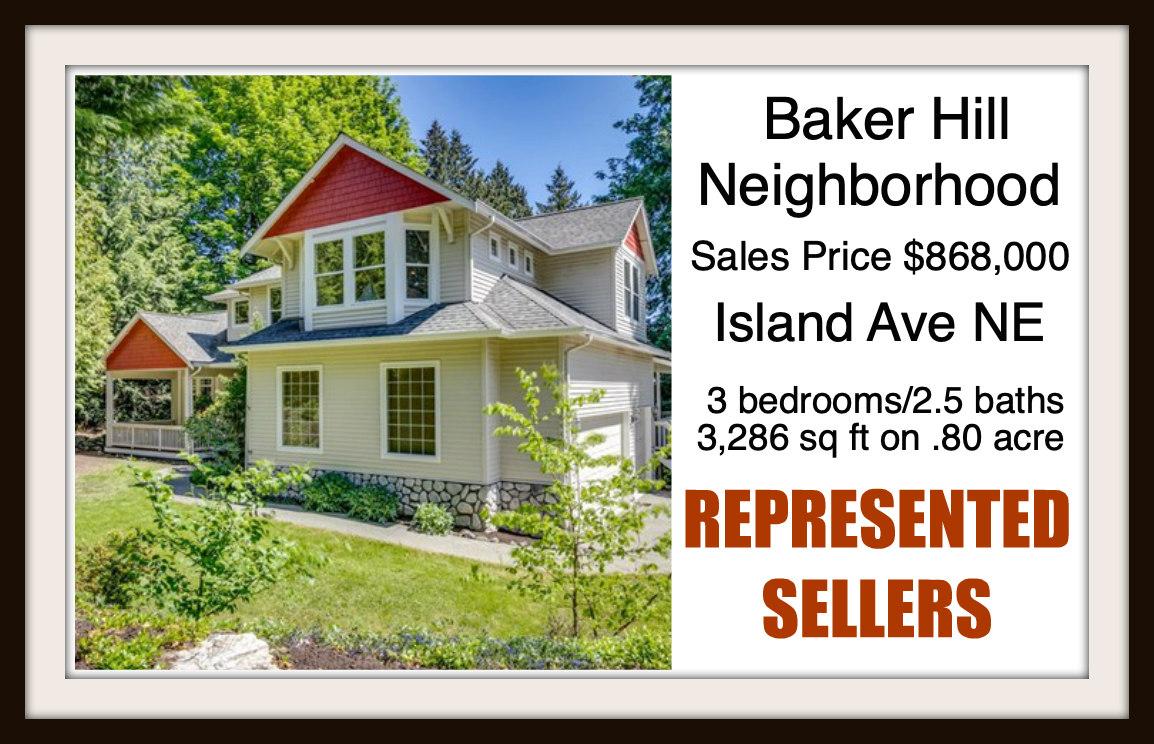 Island Ave on Bainbridge Island sold by Jen Pells Real Estate
