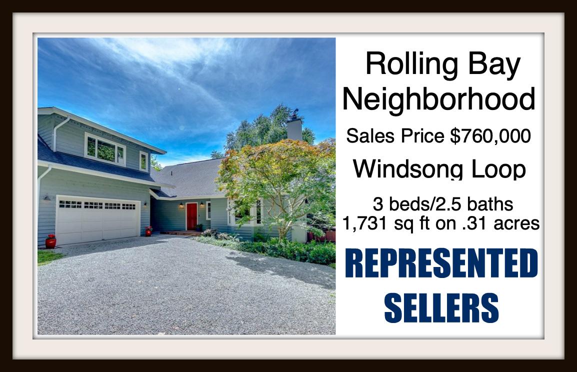 Windsong Loop on Bainbridge Island sold by Jen Pells Real Estate