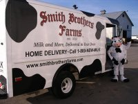 Smith Brother' Milk Delivery on Bainbridge Island
