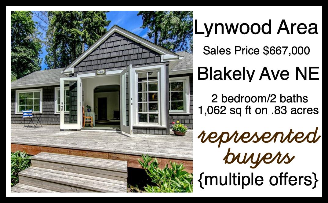 Blakely Ave Cottage sold by Jen Pells Realtor on Bainbridge Island