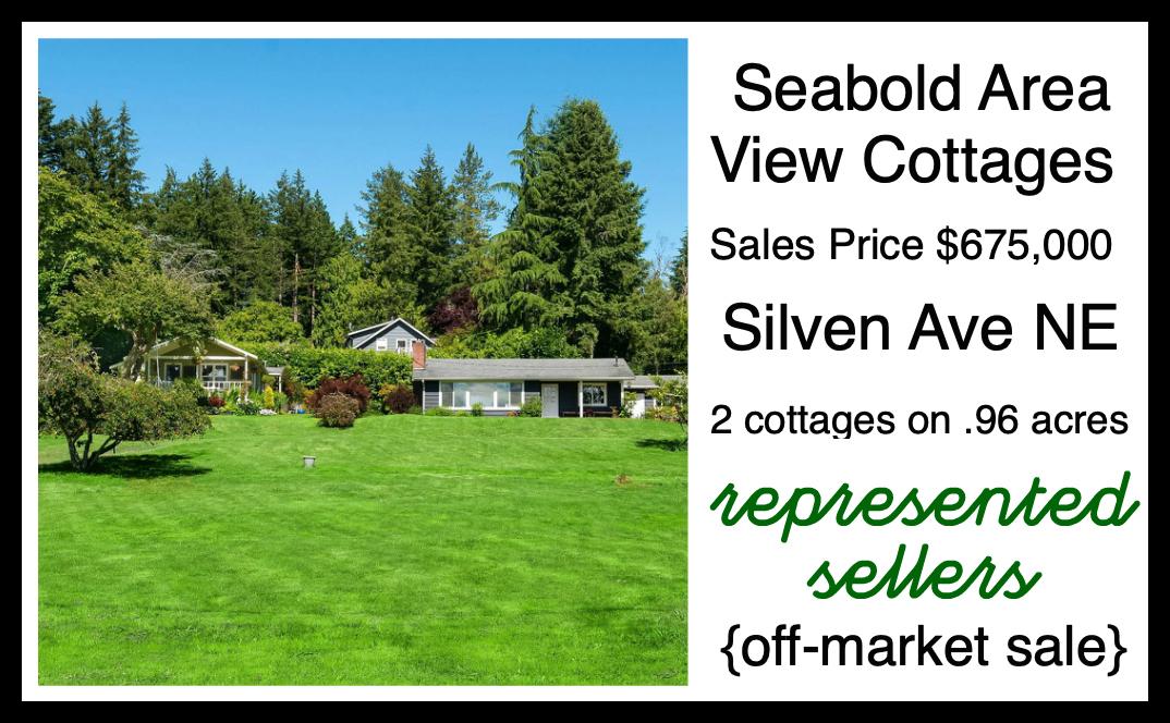 Silven Road sold by Jen Pells Realtor on Bainbridge Island