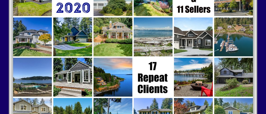 Jen's 2020 Sales Portfolio Bainbridge Real Estate Agent